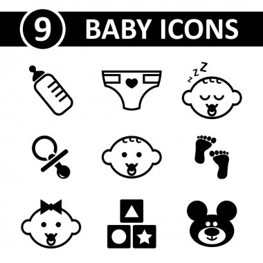 Vector icon pack. Format eps 10.