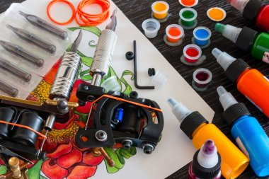 ink tattoo machines and accessories