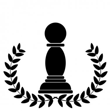 coat of arms depicting a chess pawn