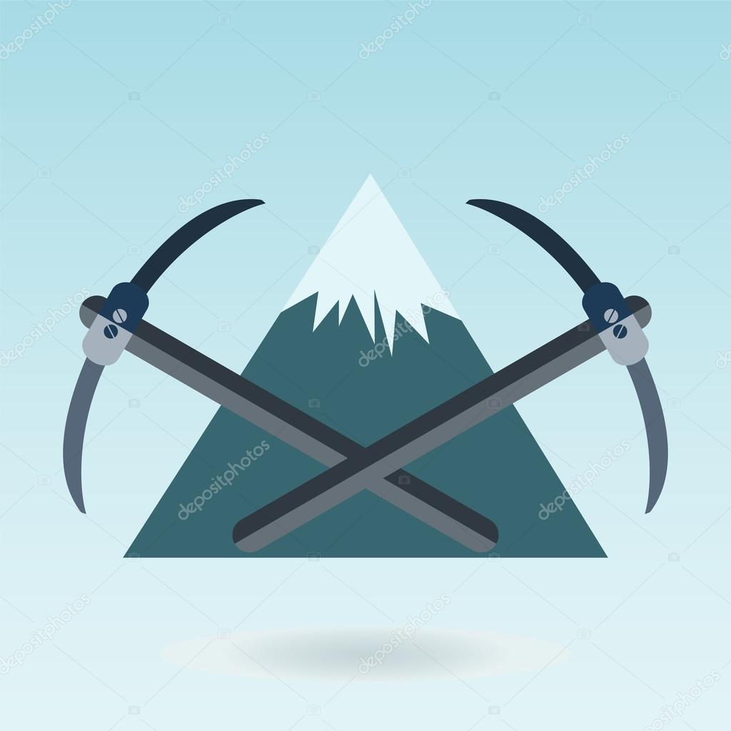 pickaxe mountain, Mountain themed outdoors emblem