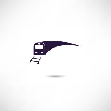 Train simple icon
