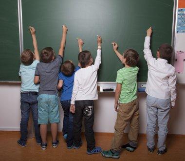 Creative school kids