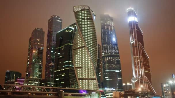 Wolkenkratzer in Moskau