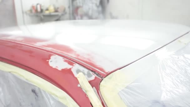 Painting of Car with Airbrush