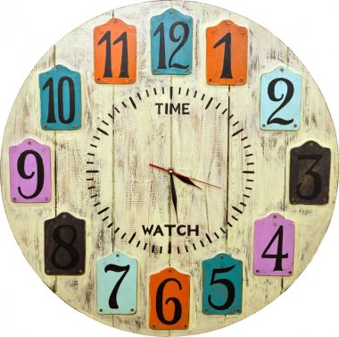 Wooden Clock face