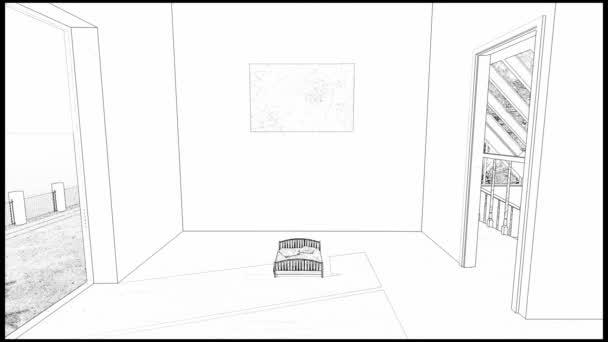 Drawing bedroom