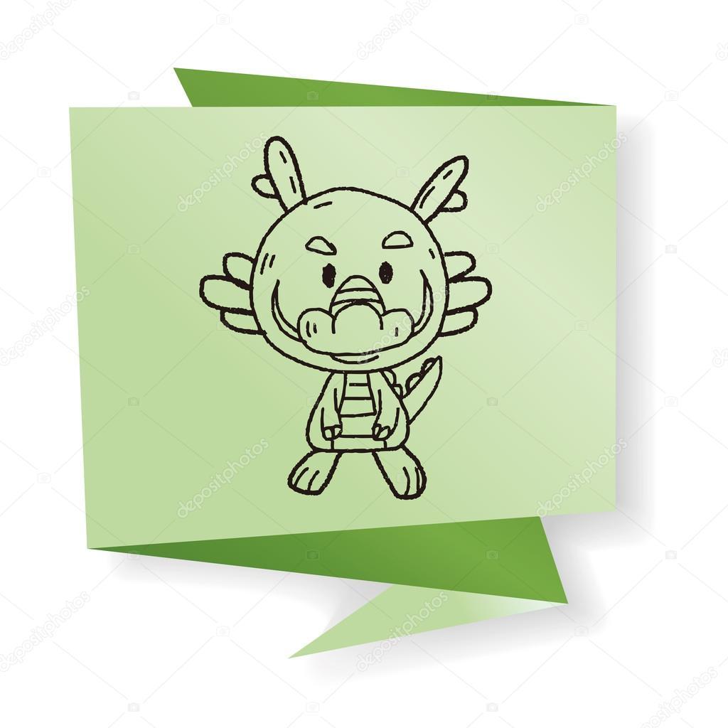 Dibujos Dragones Chinos Para Dibujar A Lapiz Dragón Del Zodiaco