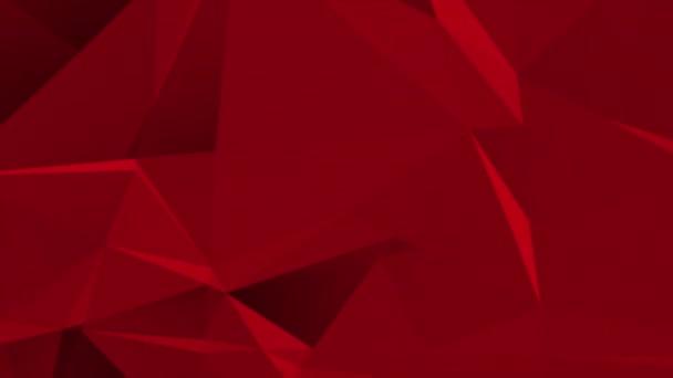 Návrh tmavě červená nízká poly abstraktní pozadí