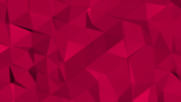 Motion dark red low poly abstract background