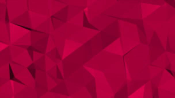 Bewegung dunkelroten Low-Poly abstrakten Hintergrund