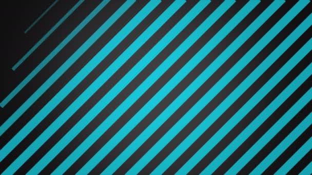 Bewegung Intro geometrische blaue Streifen, abstrakter Hintergrund