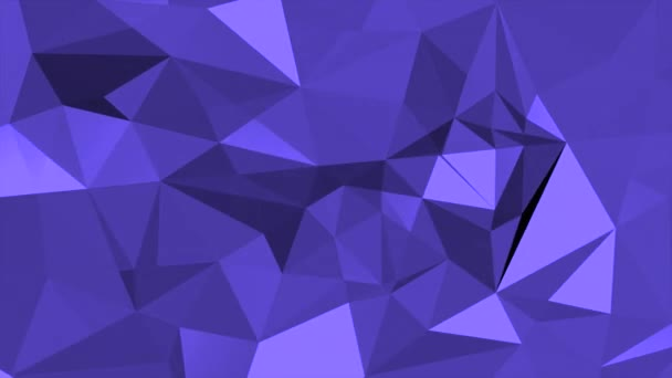 Motion dark purple low poly abstract background