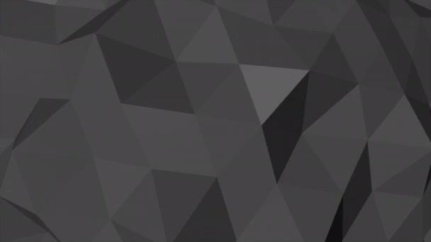 Motion tmavý černý nízký poly abstraktní pozadí