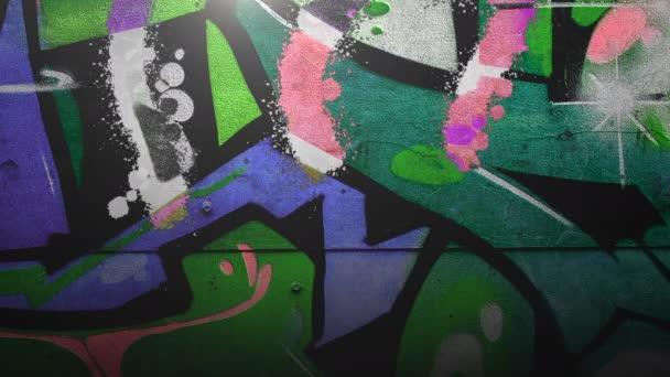 Általános animáció grunge fal épület utcán nyáron nap