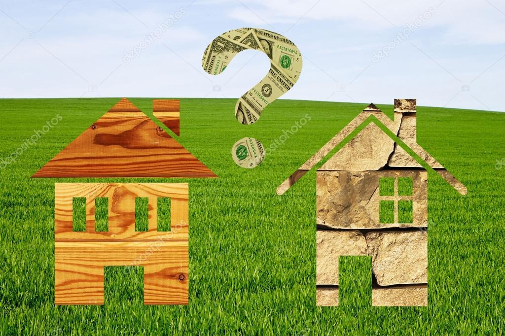 Case Di Pietra E Legno : Case di pietra e di legno disegnato u2014 foto stock © lenoraa #104609322