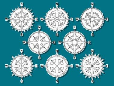 Compas set stickers