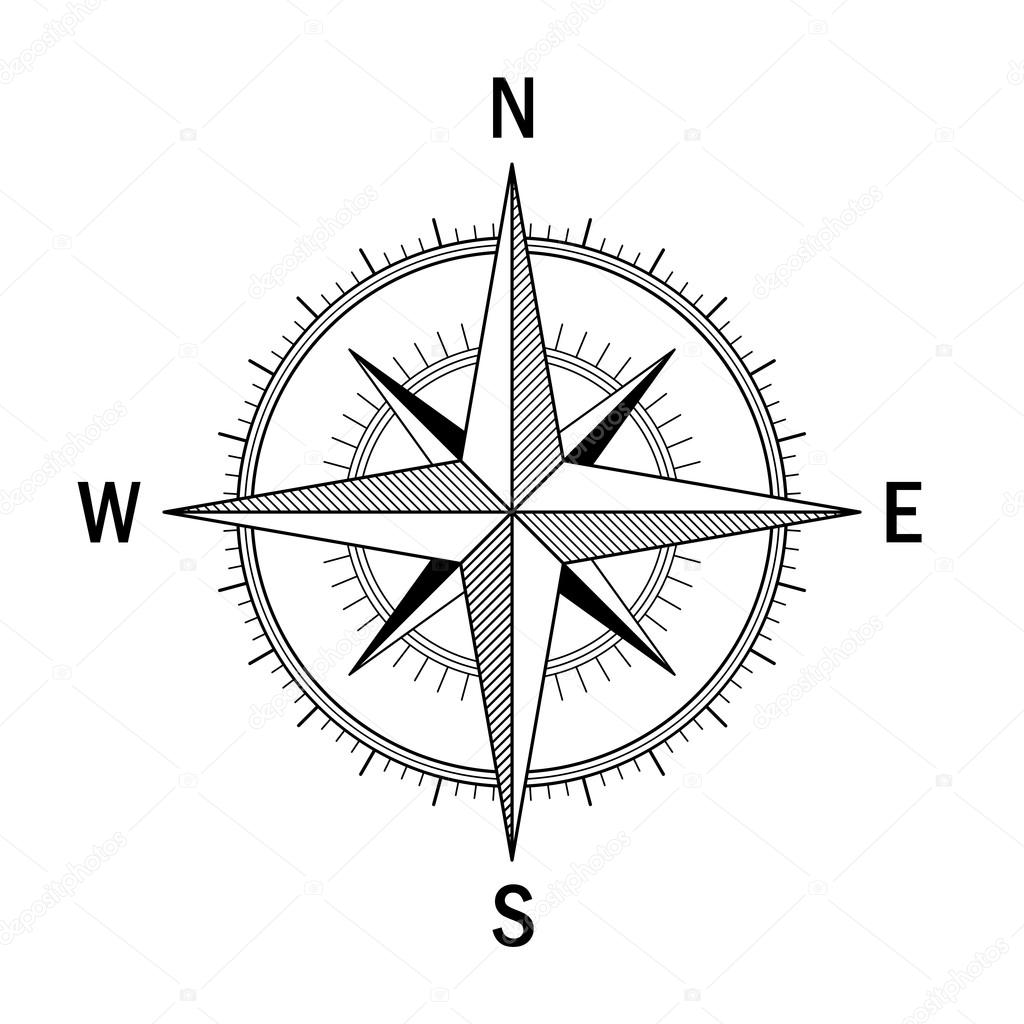 Solo Compas 1 2 Archivo Imágenes Vectoriales