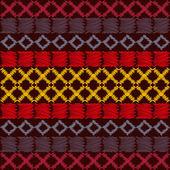 Aztekische ethnische Stammes-nahtlose Muster