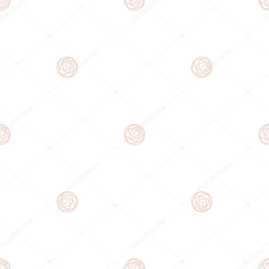 Rosa bebé rosa sutil de patrones sin fisuras — Archivo Imágenes ...