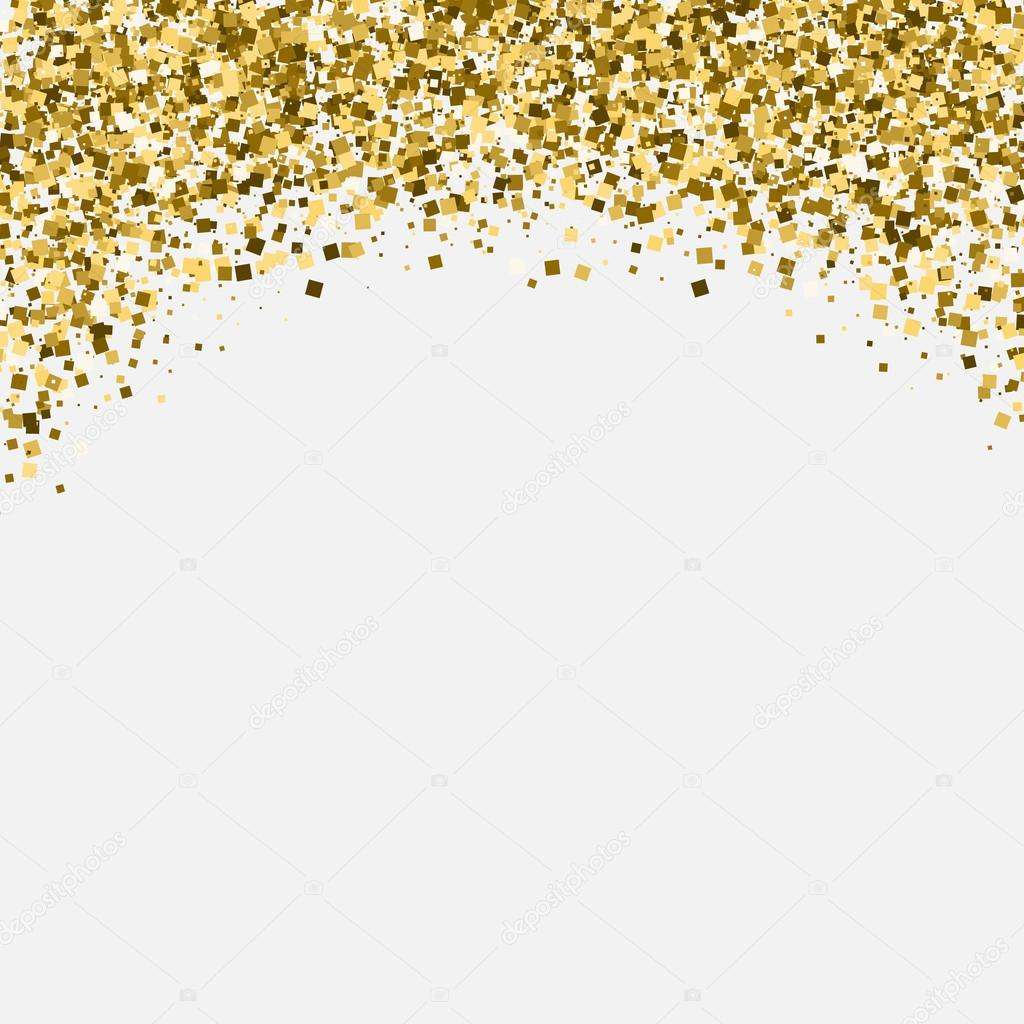 Gold glitter shimmery heading invitation card or flyer with gold glitter shimmery heading invitation card or flyer with sparkling top stock vector stopboris Images