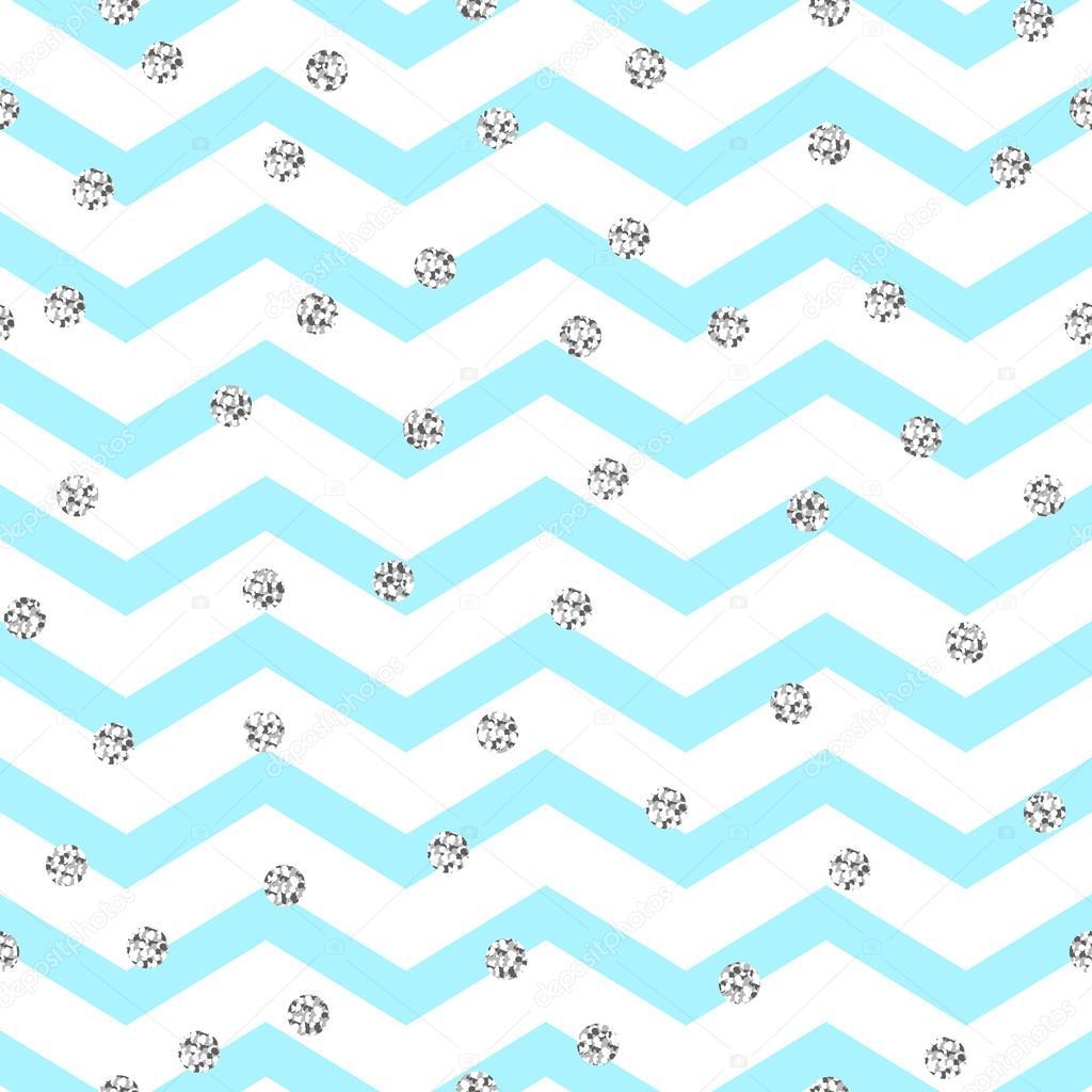 Reflejo gris banda | Chevron zigzag azul y blanco de patrones sin ...