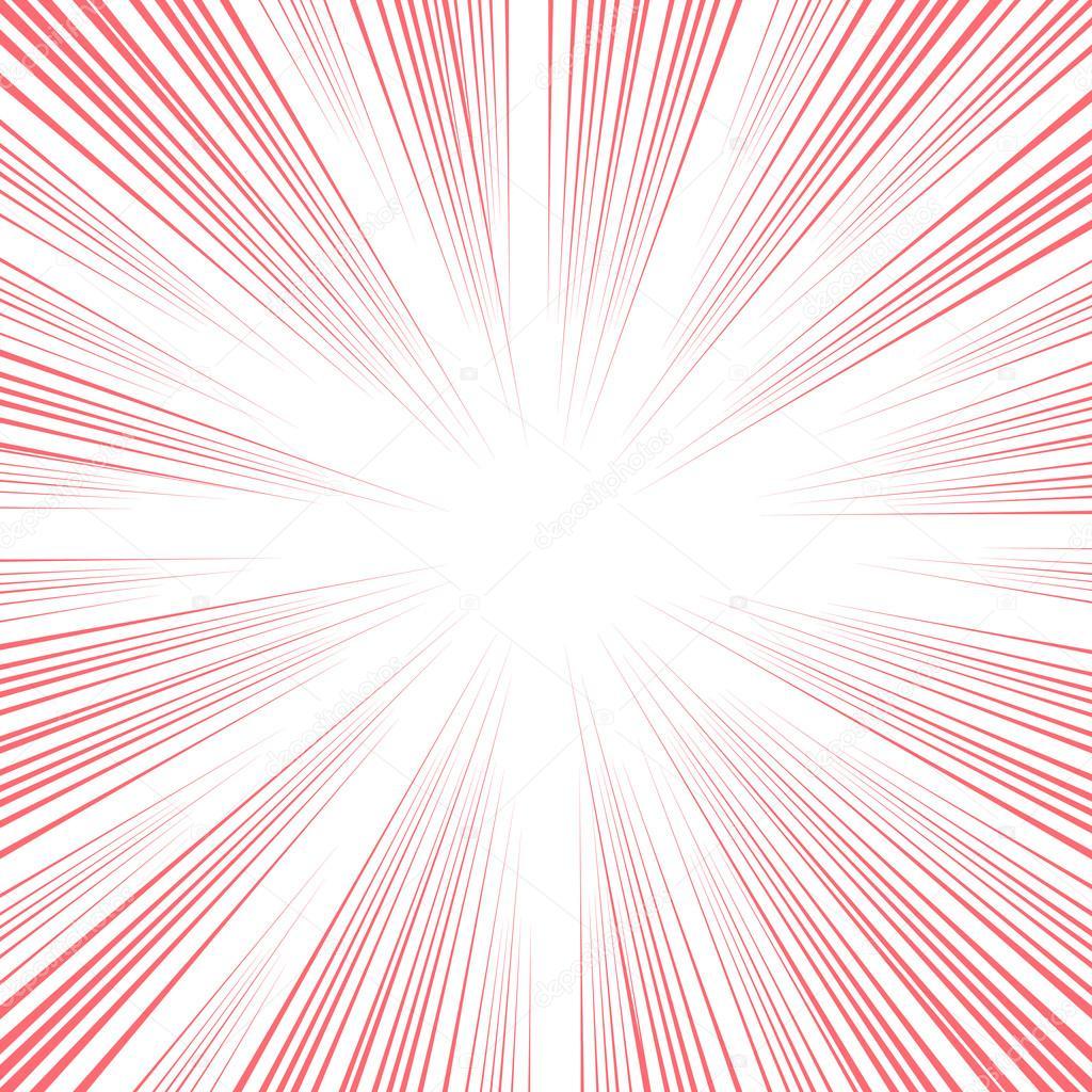 vector comic book speed lines background � stock vector