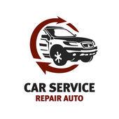 Auto služby logo šablona