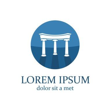 Lawyer logo template