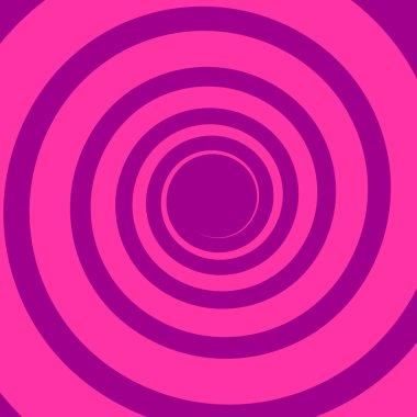 Vivid colors spiral background