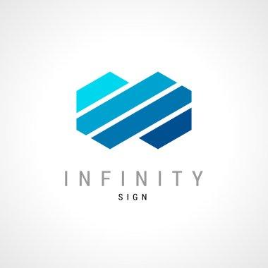 Infinity flat logo