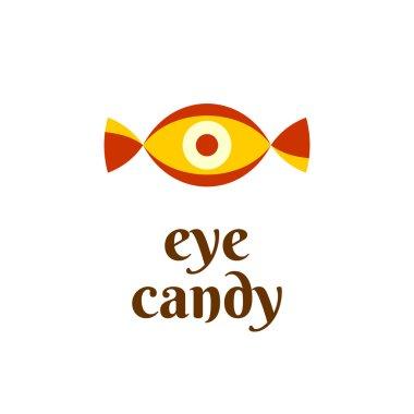 Eye candy fun logo
