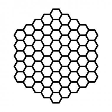 Hexagon pattern field
