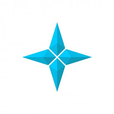 Pseudo 3D star