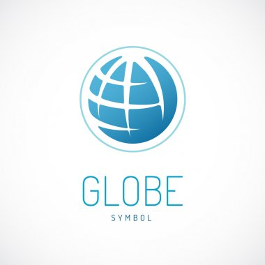 Earth logo template