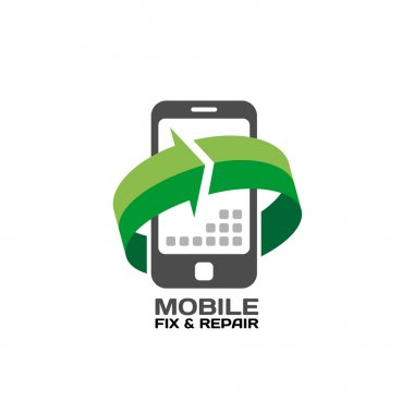 Mobile devices service logo