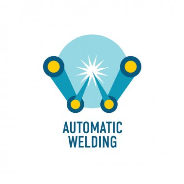 Automatic welding logo template