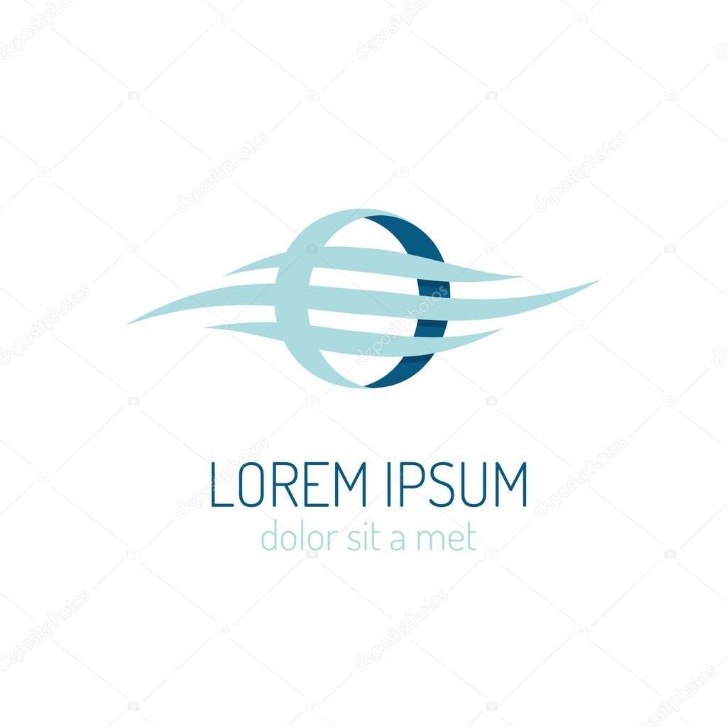 Corporate identity logo template