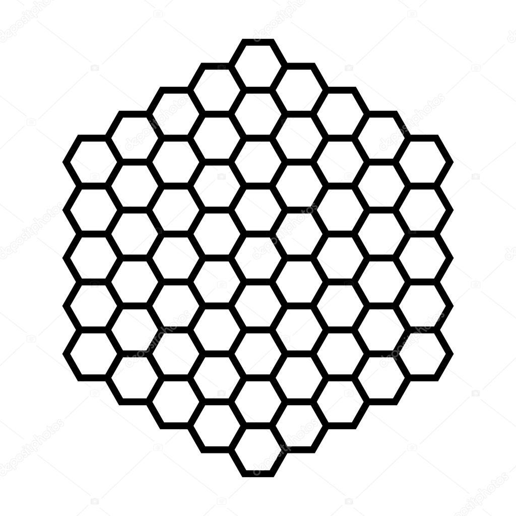 Hexagon Pattern Vector Custom Design Inspiration