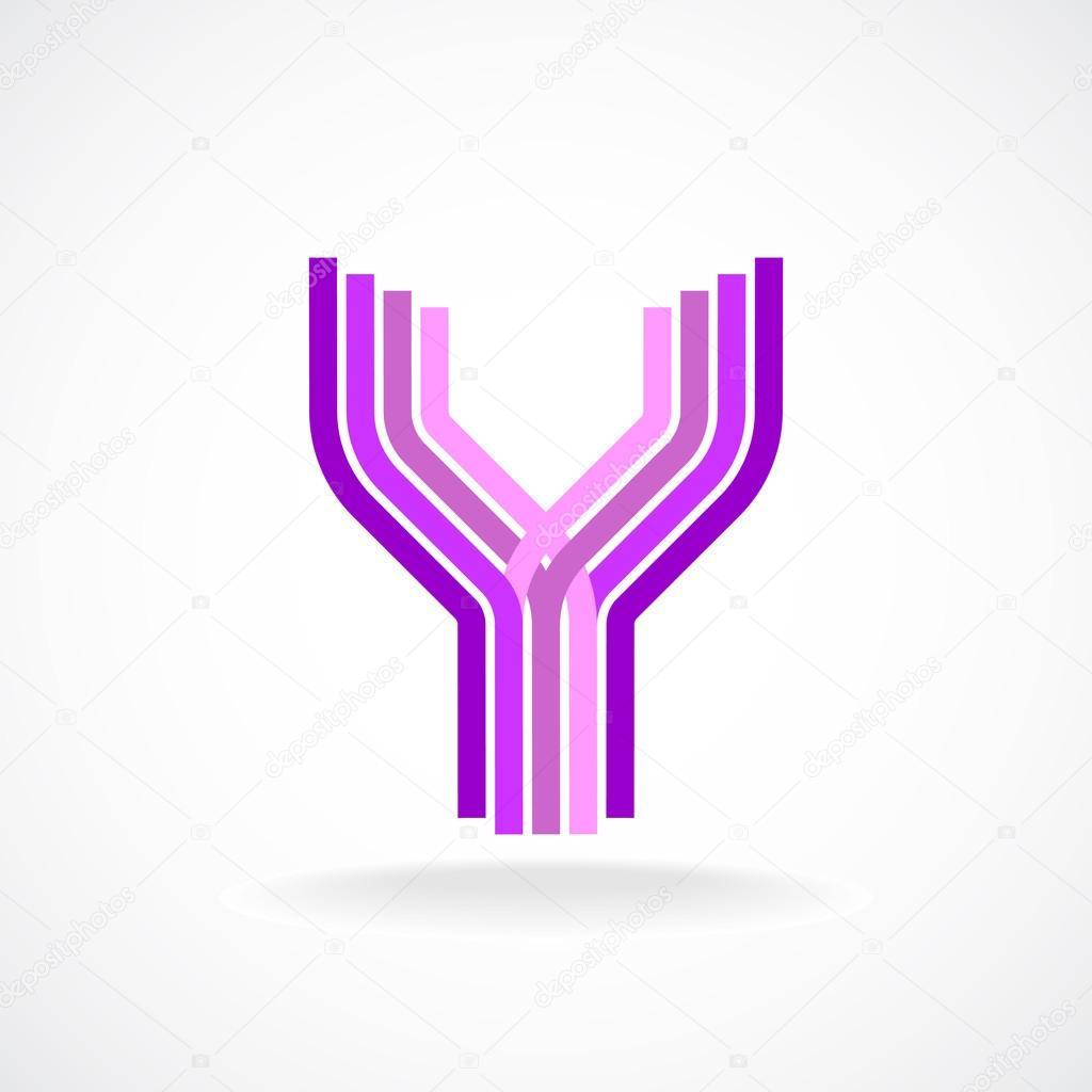 Y Logo Letter Y logo template...