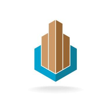 Building or real estate logo