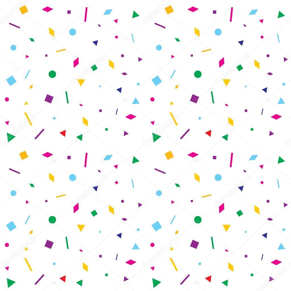 Colorful geometric figures