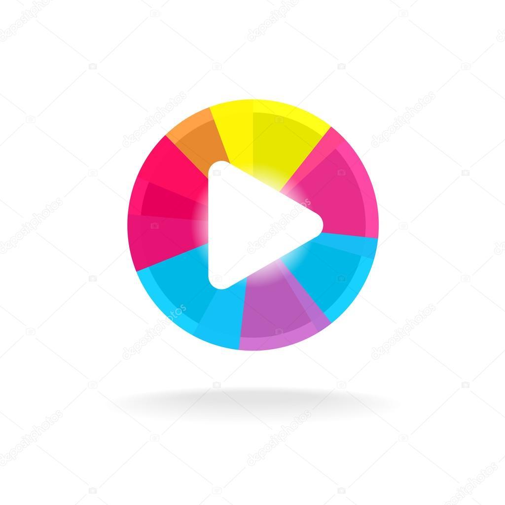 Play Button Symbol Stock Vector Kilroy 69635991