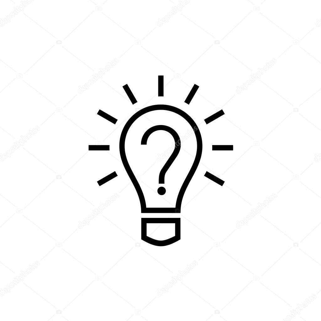 Glühbirne Lampe Symbol — Stockvektor © Kilroy #69636049