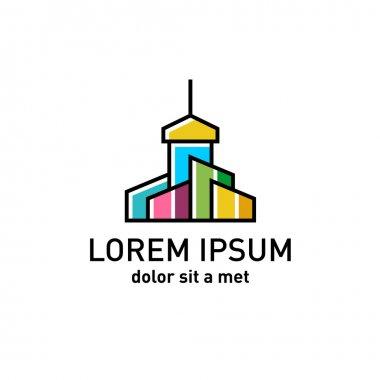 Church building logo