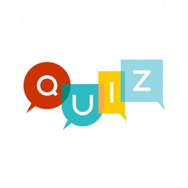 Quiz multicolor letters