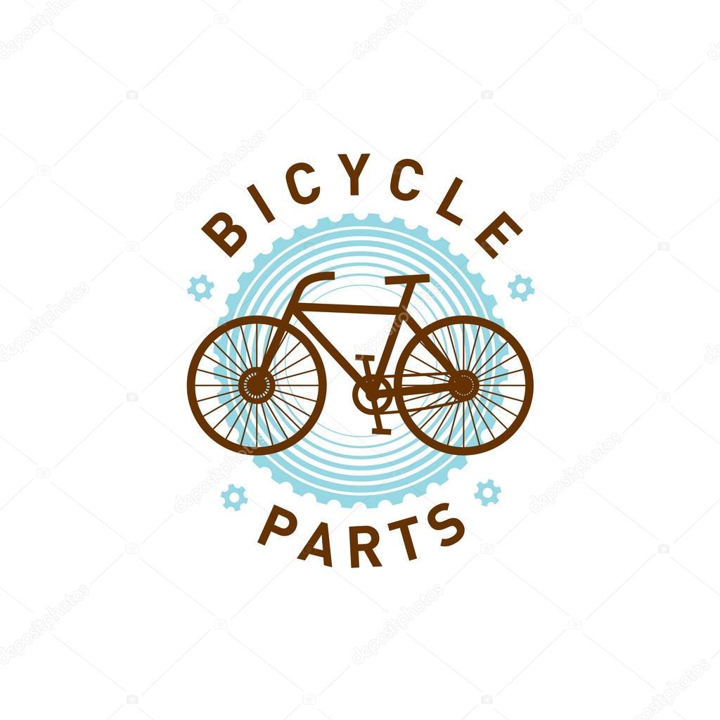 Bicycle Parts Repair Logo Stock Vector C Kilroy 75546129