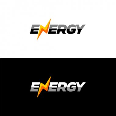 Energy text logo