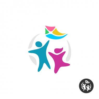 Happy people logo