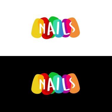 Nails colorful logo