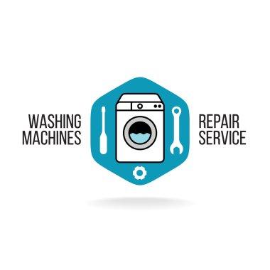 Washing machine logo